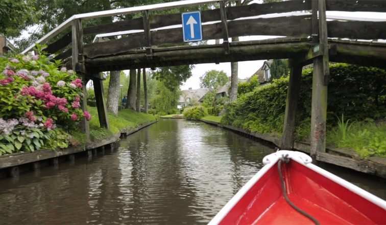 Giethoorn Venice Of The North, The Netherlands   ANYDOKO Travel Video Channel