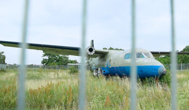 Abandoned Airplane at Tempelhof Airport in Berlin | Berlin's Coolest Public Park is Tempelhof Airport |Germany Travel Video | ANYDOKO