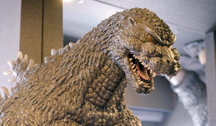 Godzilla statue   Godzilla Hotel Room   Japan Travel Video   Japanoizy   ANYDOKO
