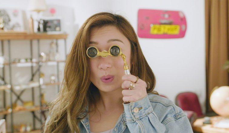 phoebe miu wearing sunglasses   Exploring Wong Chuk Hang   Hong Kong Travel Video   Shorts   ANYDOKO